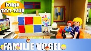 Playmobil Filme Familie Vogel: Folge 1221-1230   Kinderserie   Videosammlung Compilation Deutsch