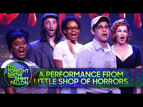A Performance from Little Shop of Horrors: Little Shop of Horrors/Skid Row   The Tonight Show