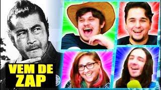 O JOGO DE ZUAR LEGENDAS DE FILMES ANTIGOS - Use Your Words Ft. Matheus Canella e Moriá