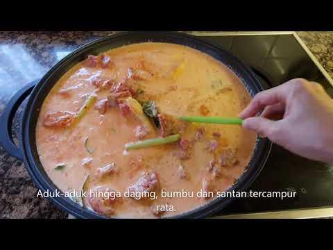 Rendang Daging - Ikon Kuliner Minangkabau | lestariweb.com