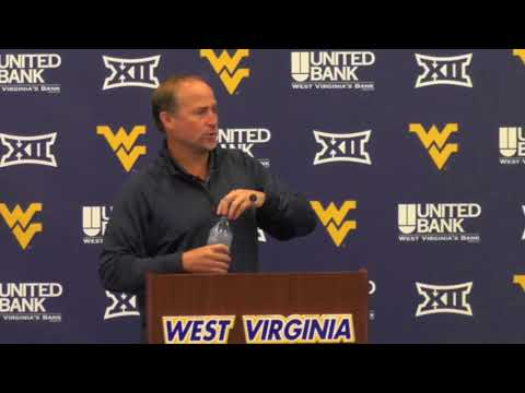WVU Football: Dana Holgorsen 8-22-17