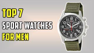 ✅Top 7 Best Sport Watches For Men 2021-Top Sport Watches On Amazon