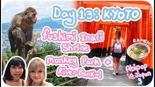 FEEDING MONKEYS & BEST RAMEN IN JAPAN!!♪ ♡ 🍜 🐵| Day 13 - Kyoto | Abipop in Japan 3 - 2017 ♡