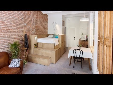 The Best Micro Apartments In The World - How To Decorate A Tiny Space ?