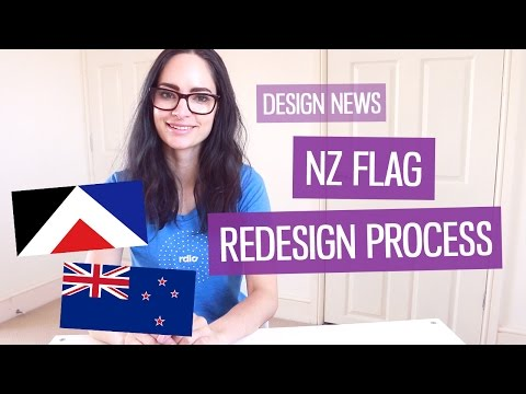 Design News: New Zealand flag redesign | CharliMarieTV