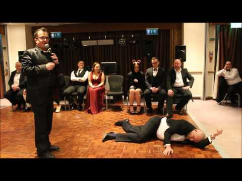 Tesco Managers Christmas Party 2016 with Comedy Hypnotist Chris Doc Strange