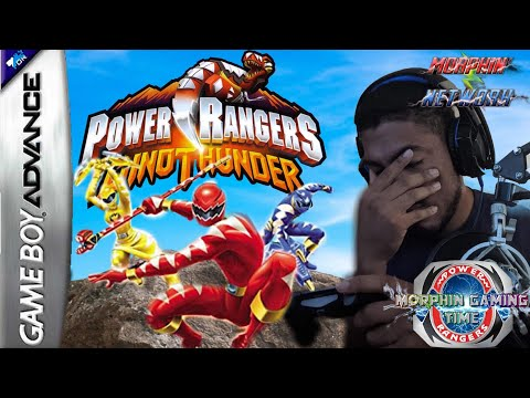Play Power Rangers – Dino Thunder • Game Boy Advance GamePhD