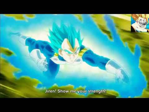 Vegeta vs Jiren full fight HD