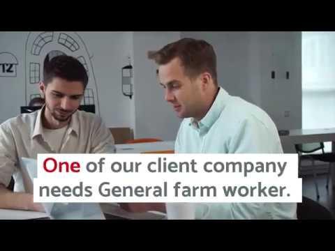 Open Jobs In Canada General Farm Worker