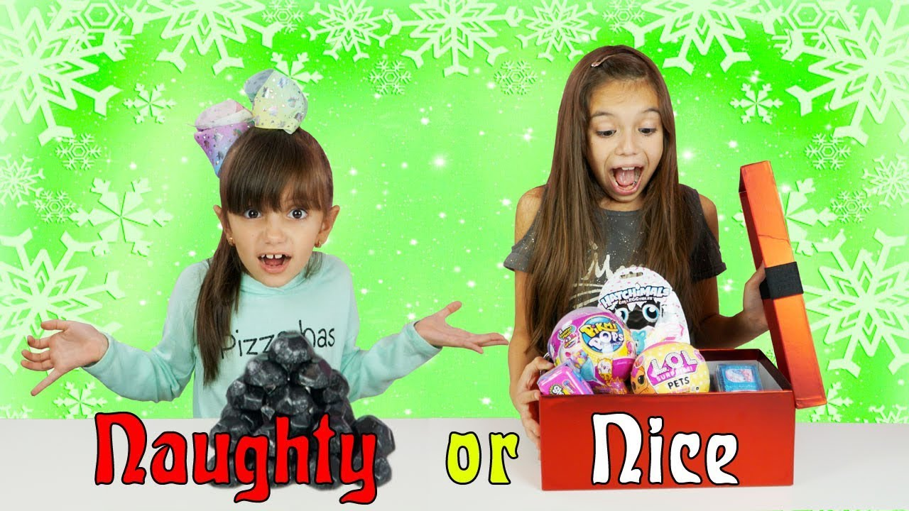 Switch It Up Toys : Naughty or nice christmas switch up challenge best toys