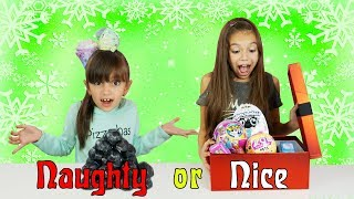 NAUGHTY OR NICE CHRISTMAS SWITCH UP CHALLENGE - Best Toys Edition