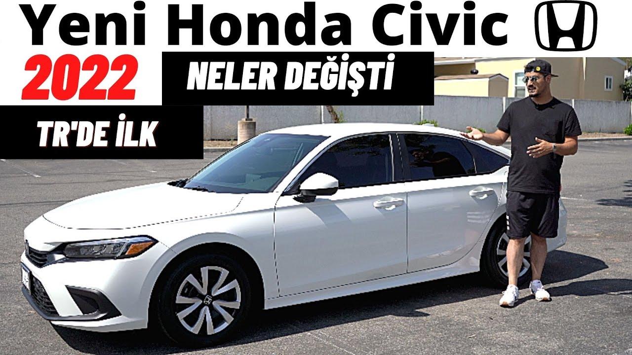 Yeni 2022 Honda Civic Tanıtım | Yeni Kasa, inceleme, Test Sürüşü