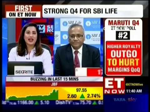 Mr  Sanjeev Nautiyal   MD & CEO, SBI Life discussing Q4 with ET Now Buy Now Sell Now -27 April 2018