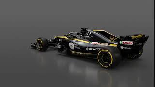 2018 - Formula 1 Renault R.S. 18 reveal - 360°