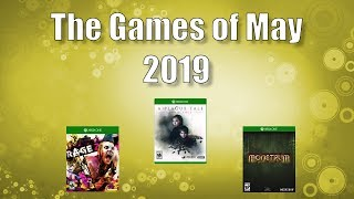 New Games Coming Out In May 2019