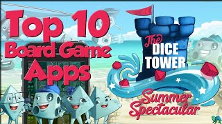 Top 10 Board Game Apps (Featuring Tom, Eric, Mandi,& Suz)