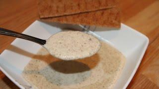 КРЕМ-СУП ИЗ ШАМПИНЬОНОВ (Cream of mushroom soup)