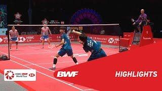 HSBC BWF World Tour Finals 2018 | WD - SF - HIGHLIGHTS | BWF 2018