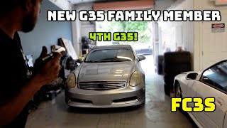 homepage tile video photo for WELCOME OUR 4TH G35 FAMILY MEMBER