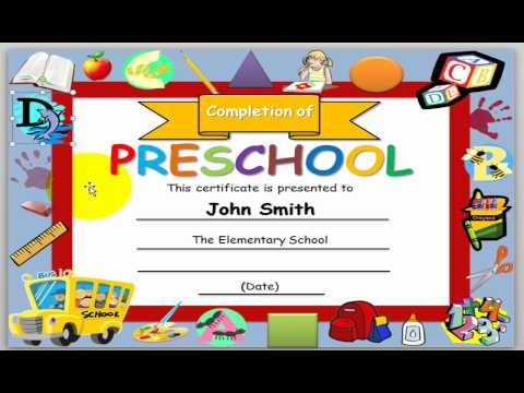 How To Make Award Certificates In PowerPoint 2010