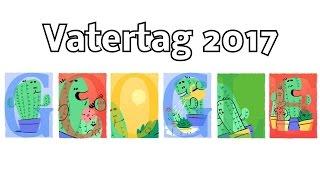 Vatertag 2017 - Alles Gute zum Vatertag! - Sonntag, 11. Juni 2017 (Österreich) (Google Doodle)