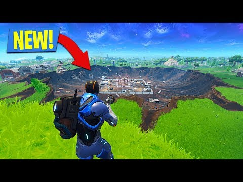 NEW SEASON 4 UPDATE in FORTNITE Secret Locations New