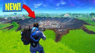 NEW SEASON 4 UPDATE in FORTNITE!! (Secret Locations, New Skin Upgrades, Comet Crater)