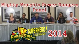 Mighty Morphin Power Rangers Panel - RangerStop 2014 - Austin St. John, Walter Jones, & More