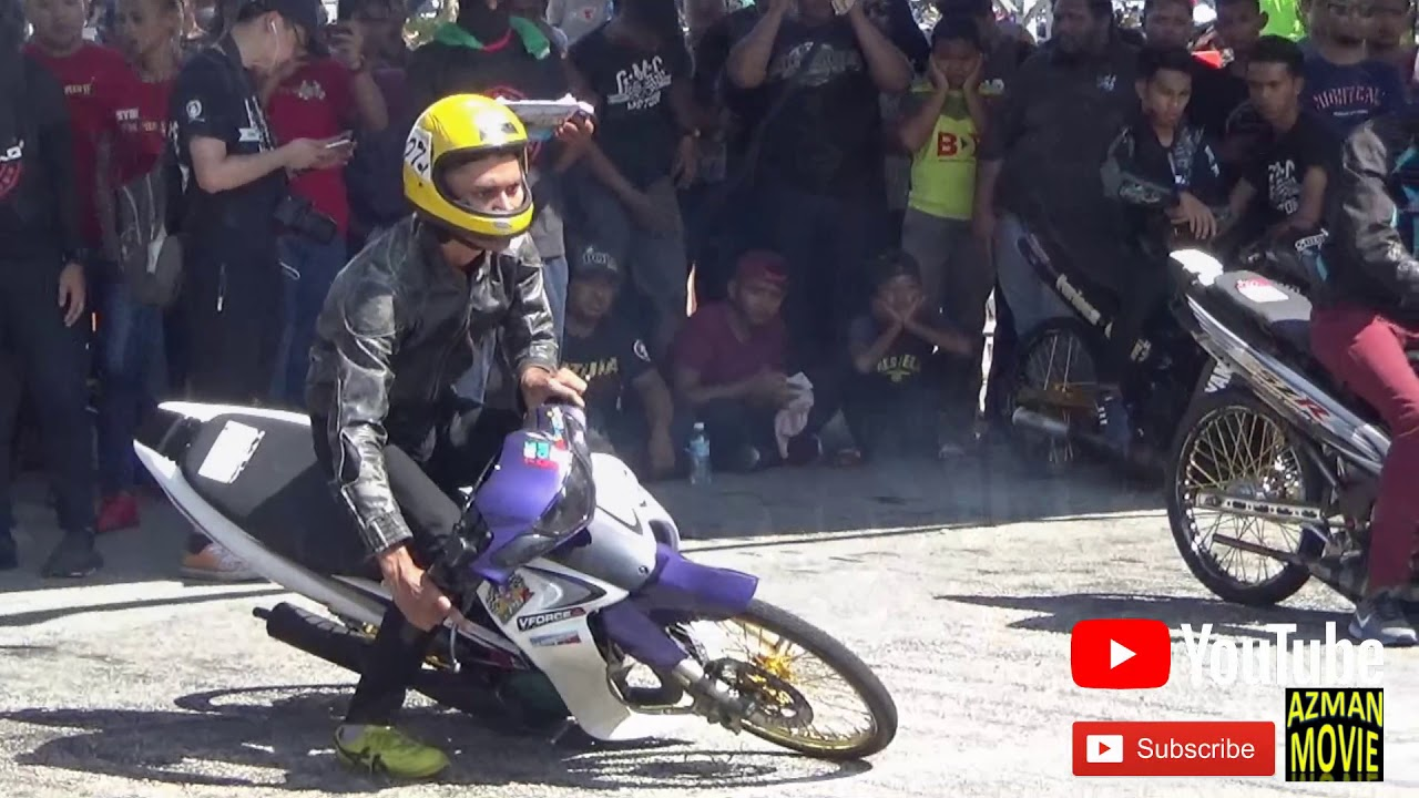 PART 16/18 125cc Sprint Test Drag Racing Kubang Menerong Mac 2018