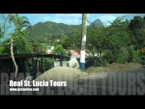 Road to Gros Piton Trail - Soufriere Starting Point