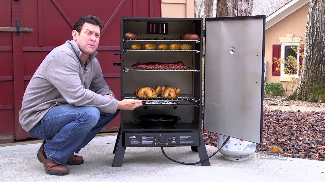 Sportsman Elite 40 Quot Vertical Gas Smoker Features And