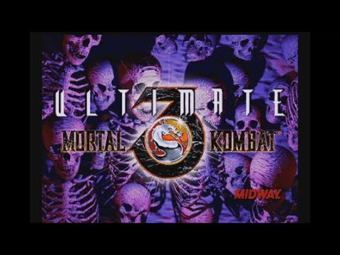 Ultimate Mortal Kombat 3 (Saturn) - Longplay