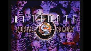 Ultimate Mortal Kombat 3 (Saturn) - Longplay