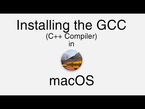 Install GCC On MacOS (GCC-7)