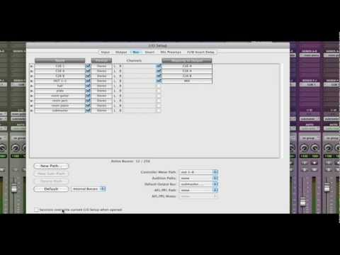 Pro Tools – I/O Setups, Part 1