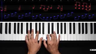Bob Marley - No Women No Cry (Piano Cover Sheet Music) видео