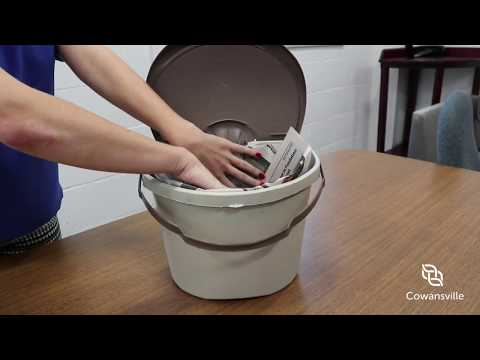 Learn How to Make Your Paper Bag for Your Compost Bin!