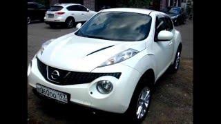 видео Защита крыла на Nissan Juke
