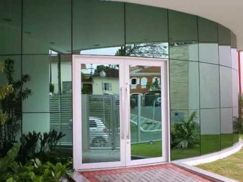 Fachada glazing port es portas janelas esquadrias de for Fachada aluminio