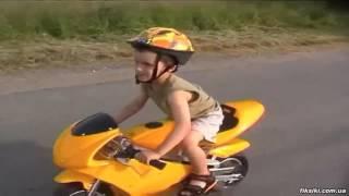 Детский электромотоцикл HB-PSB 01-E-2 PROFI, чёрный - fiksiki.com.ua
