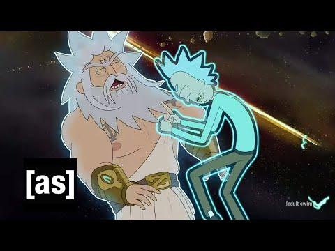 Rick Vs. God | Rick And Morty | Adult Swim