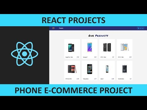 React Phone E-Commerce Project