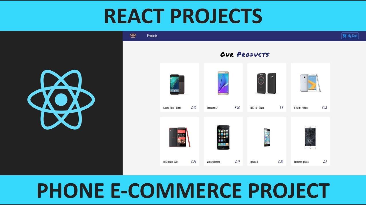 React Phone E-Commerce Project