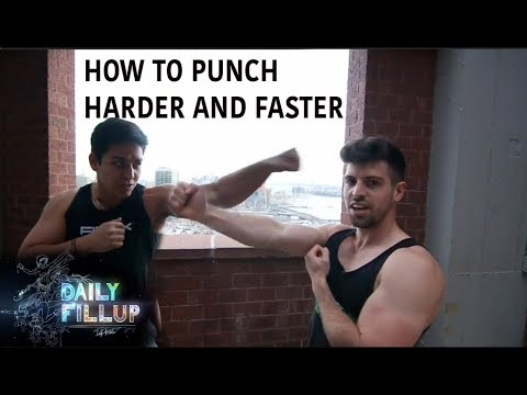 How to Punch Harder & Faster