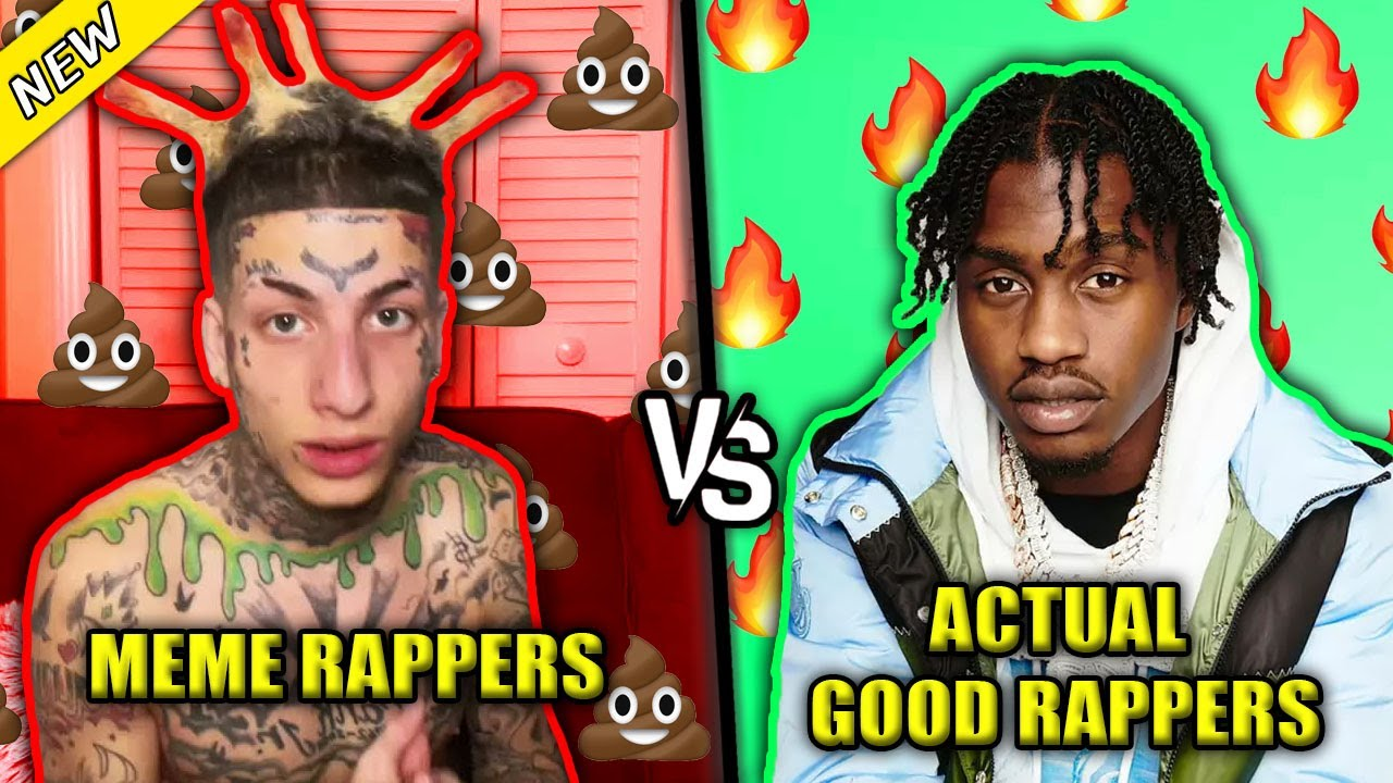 Download MEME RAPPERS VS ACTUAL GOOD RAPPERS