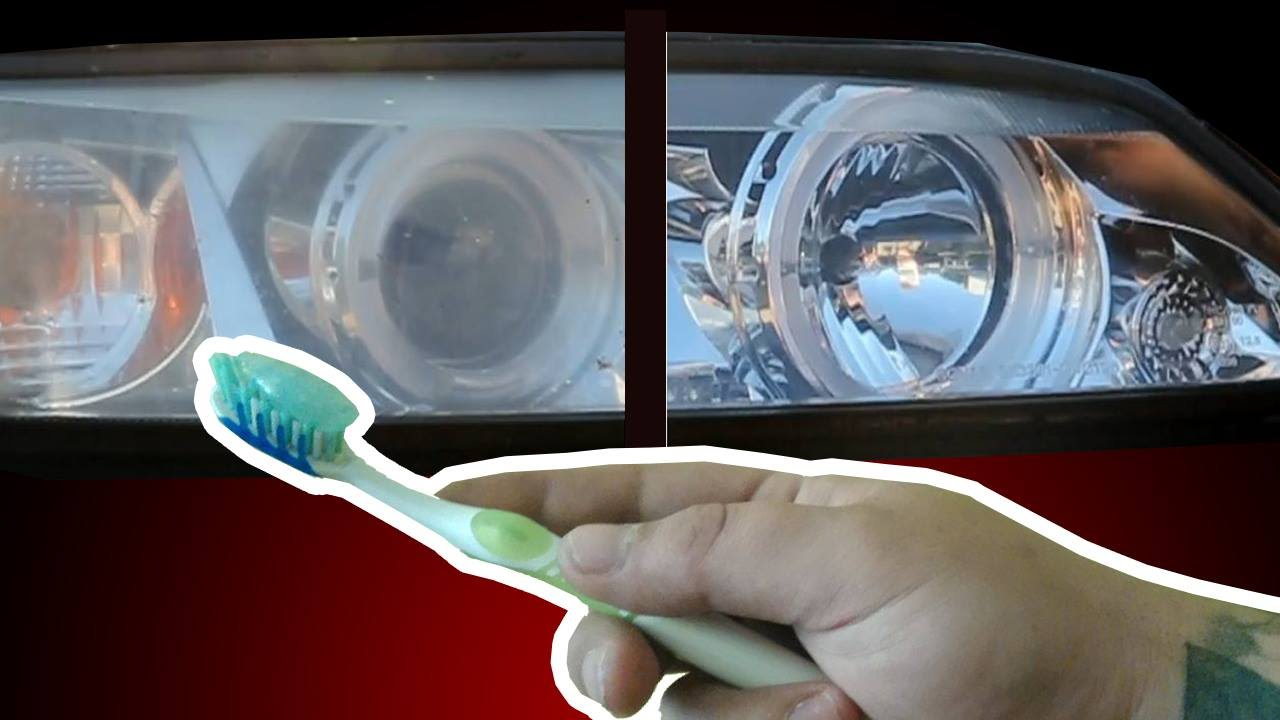 How To Headlight Restoration Using Toothpaste In 15 Min