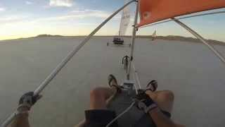 Landsailing with Windwizzards