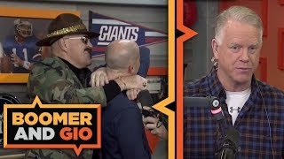 SGT. SLAUGHTER joins the show | Boomer and Gio