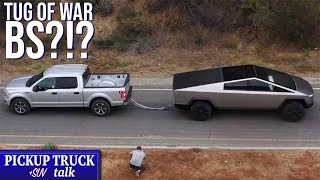 Is it Fair?!? Ford Challenges Tesla Over Tug of War!