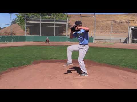 LHP/OF AJ Sheinberg (Athenian '19) Pitching